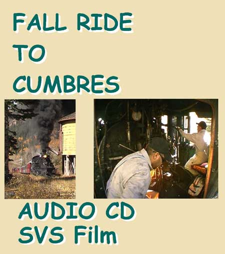 Fall Ride to Cumbres - audio CD cover
