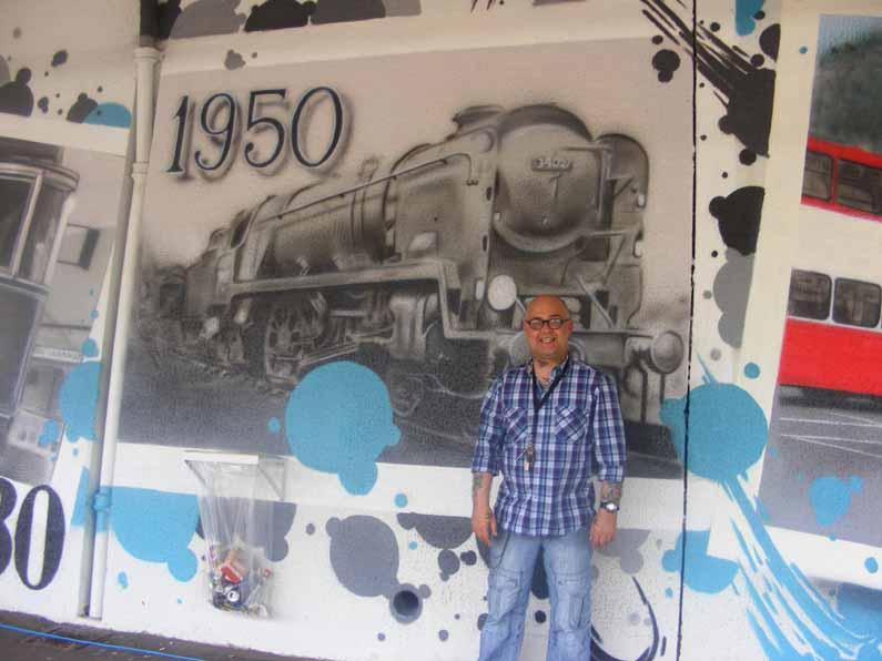 Nine Elms Locomotive Shed - Emails