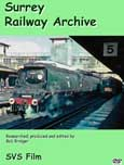 Surrey Railway Archive DVD cover