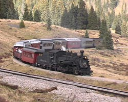 484 entering Tanglefoot Curve - October 2006. - copyright John McIvor 2008